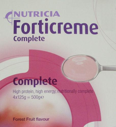Forticreme Complete Forest Fruit 125g Pack of 4