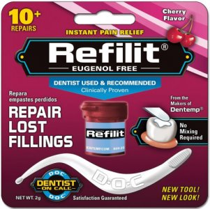 Refilit For Lost Fillings Cherry Flavour