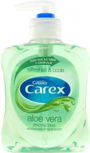 Carex Aloe Vera Anti-Bacterial Hand Wash 250ml