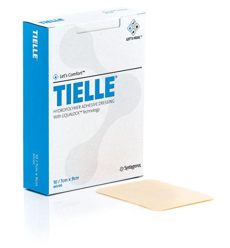 Tielle Polyurethane Foam Film Dressing 7cm x 9cm Pack of 10