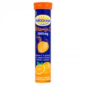 Haliborange Effervescent Vitamin C Orange Pack of 20