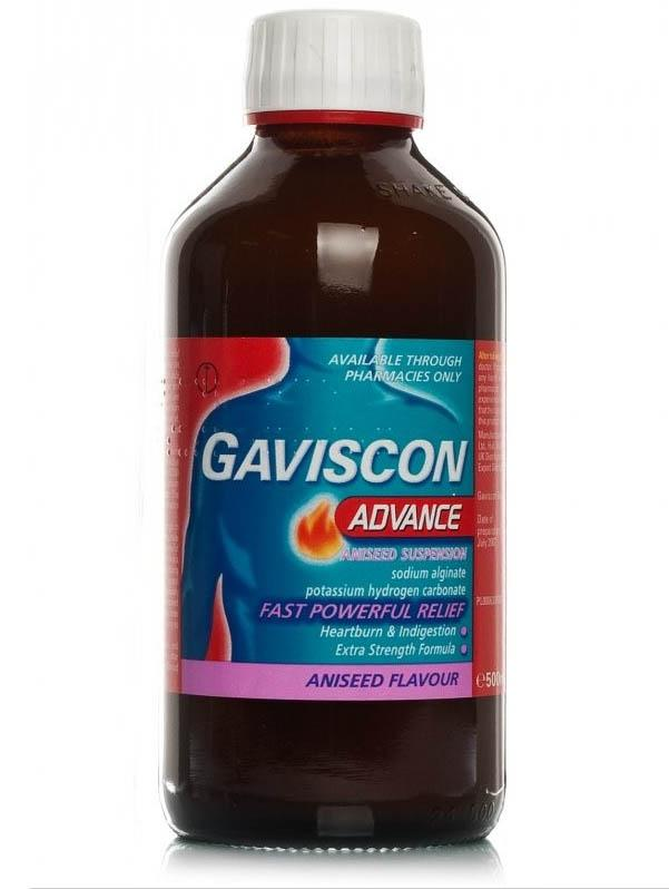 Gaviscon Advance Liquid Aniseed 500ml