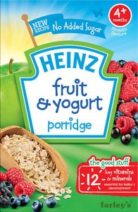Heinz Fruit and Yoghurt Porridge 125g