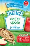 Heinz Oat & Apple Porridge 125g