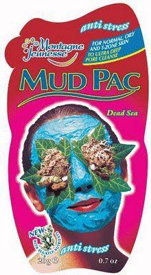 Montagne Jeunesse Dead Sea Mud Pac Anti-Stress Sachet 20ml
