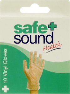 Safe & Sound Vinyl Gloves