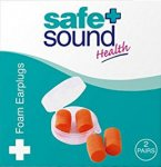 Safe & Sound Foam Earplugs 2 Pairs