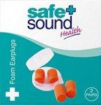 Safe & Sound Foam Earplugs 2 Pairs