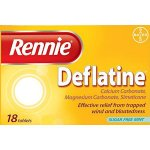 Rennie Deflatine Tablets Pack of 18