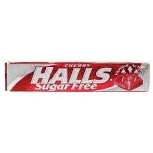 Halls Sugar Free Lozenges Cherry Flavour