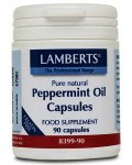 Lamberts Peppermint Oil Capsules 50mg Pack of 90