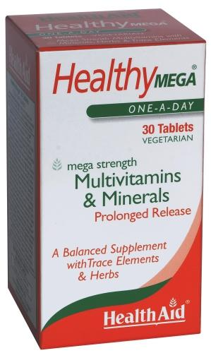 HealthAid Healthy Mega Tablets Pack of 30