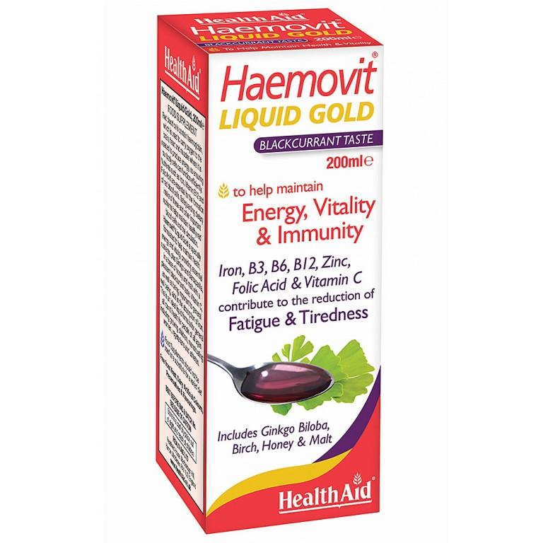 HealthAid HaemoVit Liquid Gold 200ml