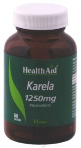 HealthAid Karela 1250mg Tablets Pack of 60