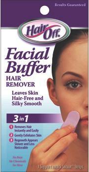 HealthAid Hair Off Facial Buffer Pack of 3