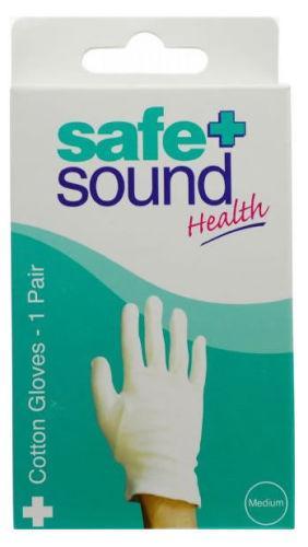 Safe & Sound Gloves Cotton medium