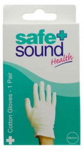 Safe & Sound Gloves Cotton medium