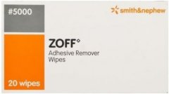 Zoff Adhesive Remover Wipes Pack of 20