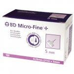 BD MicroFine Insulin Pen Needle 31 Gauge x 5mm Pack of 100