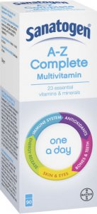 Sanatogen A-Z Complete One-a-day Pack of 90
