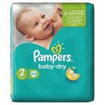 Pampers Baby Dry (unisex) Mini Pack of 33