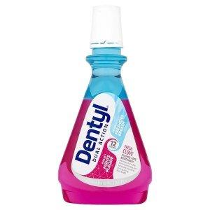 Dentyl Dual Action Fresh Clove Mouthwash 500ml