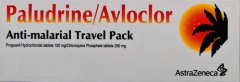 Paludrine/Avloclor Travel Pack of 112