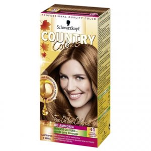Country Colors Hair Colourant Warm Brown 49