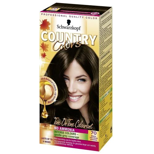 Country Colors Hair Colourant Dark Brown 70