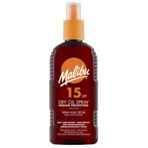 Malibu Dry Oil Spray SPF15 200ml