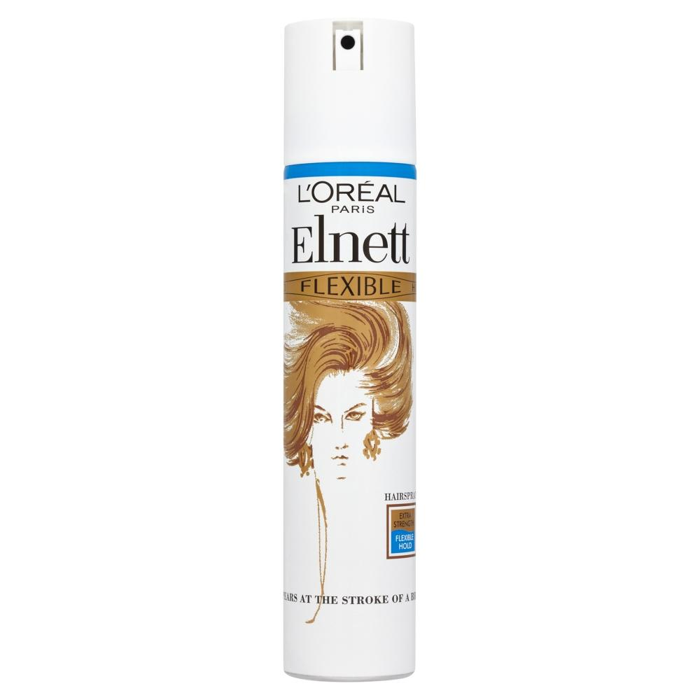 L'Oreal Elnett Extra Strength Flexible Hold Hairspray 200ml