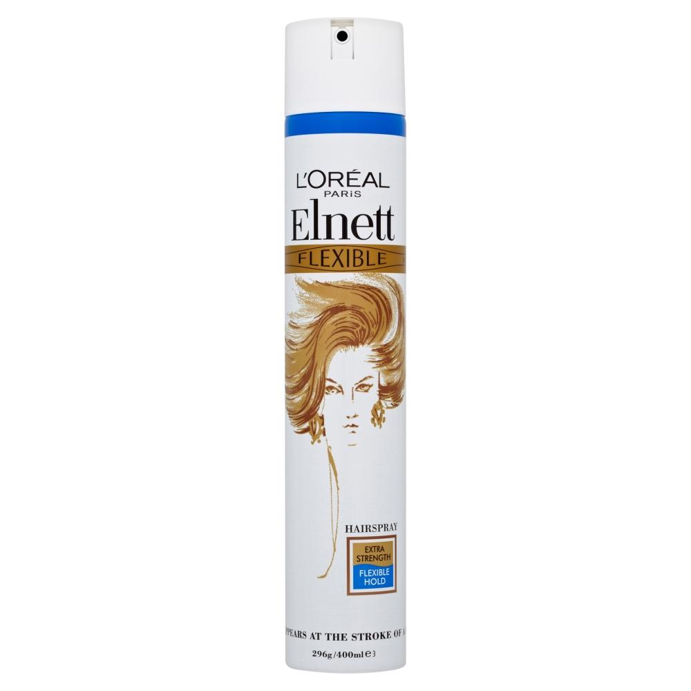 L'Oreal Elnett Extra Strength Flexible Hold Hairspray 400ml