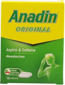 Anadin Original Caplets Pack of 16
