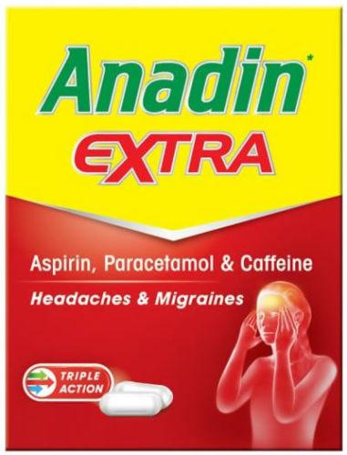 Anadin Extra Caplets Pack of 32