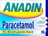 Anadin Paracetamol Tablets Pack of 16