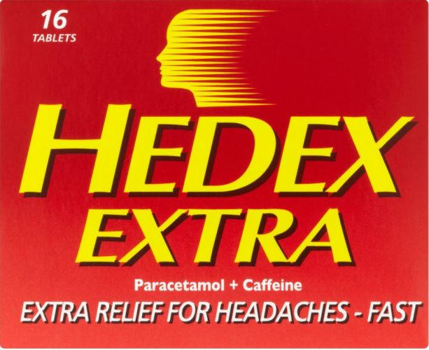 Hedex Extra Tablets Pack of 16