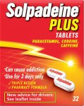 Solpadeine Plus Tablets Pack of 32