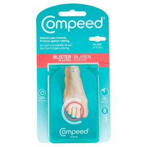 Compeed Toe Blister Plasters Pack of 8