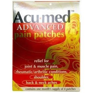 Acumed Bioelectric Patch For Muscle Pain Pack of 4