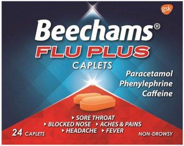 Beechams Flu Plus Caplets Pack of 24