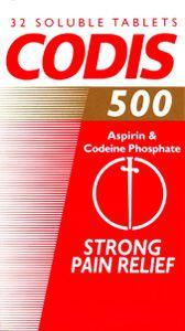 Codis 500 Dispersible Tablets Pack of 32