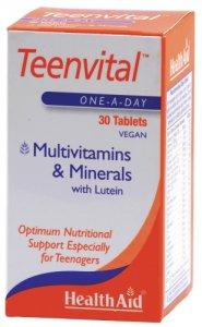 HealthAid Teenvital Tablets Pack of 30