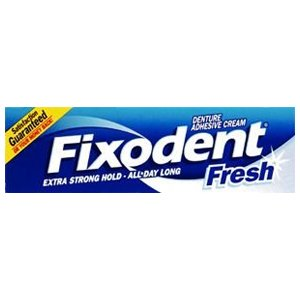 Fixodent Fresh Denture Adhesive Cream 40ml