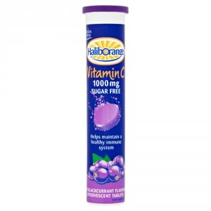 Haliborange Effervescent Vitamin C Blackcurrant Pack of 20