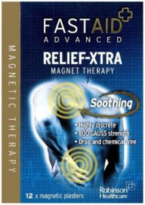 Fastaid Advanced Relief-Xtra Magnet Therapy Plasters Pack of 12