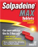 Solpadeine Max Tablets Pack of 30