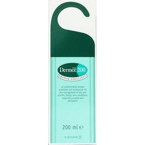 Dermol 200 Shower Emollient 200ml Pack of 3