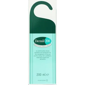 Dermol 200 Shower Emollient 200ml Pack of 3