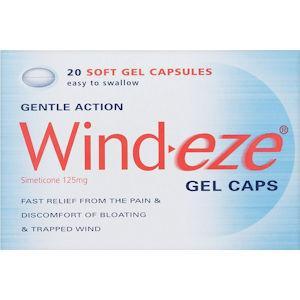 Wind-eze Gel Capsules Pack of 20