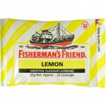 Fisherman's Friend Lemon Menthol Sugar Free Lozenges 25g